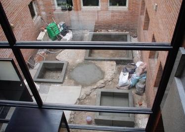 construcción patio japonés